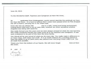 Family Letter 2