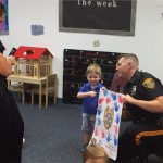 A visit from the Westfield PD!