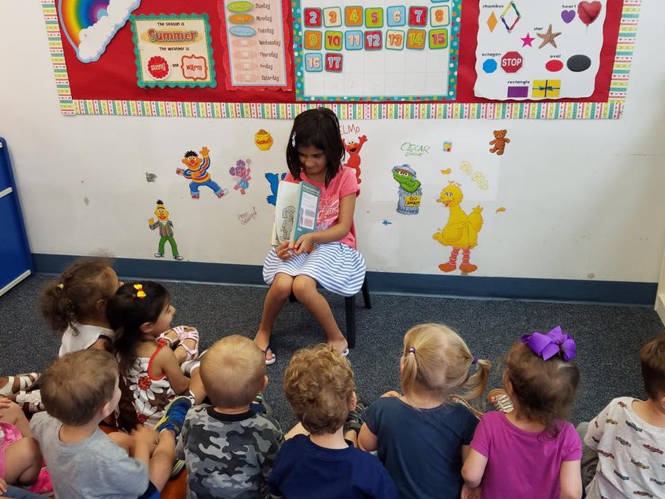 Kindergarten Reading Buddies!